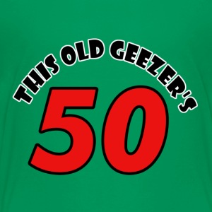50 birthday design - Toddler Premium T-Shirt