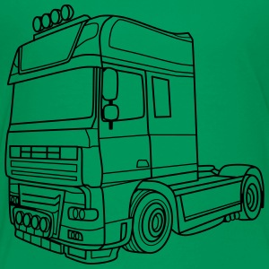 Truck v8 - Toddler Premium T-Shirt