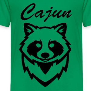 see throw cajun coon icon - Toddler Premium T-Shirt