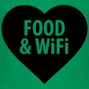Food and WiFi - Toddler Premium T-Shirt