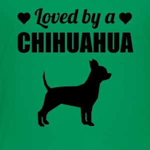 Loved By A Chihuahua - Toddler Premium T-Shirt