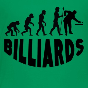 Billiards Evolution - Toddler Premium T-Shirt