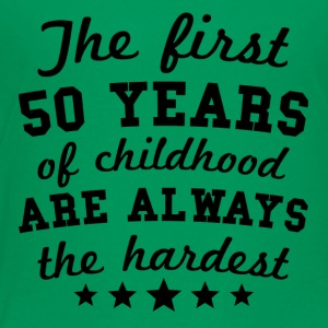 50 Years Of Childhood 50th Birthday - Toddler Premium T-Shirt