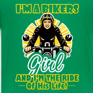 Biker Ride Of His Life Shirt - Toddler Premium T-Shirt