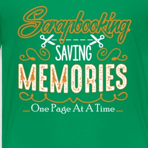 Scrapbooking Lovers Shirt - Toddler Premium T-Shirt