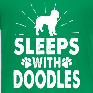 Sleeps With Doodles Clothing - Toddler Premium T-Shirt