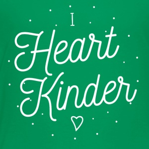 Teacher Shirt | I Heart Kindergarten - Toddler Premium T-Shirt