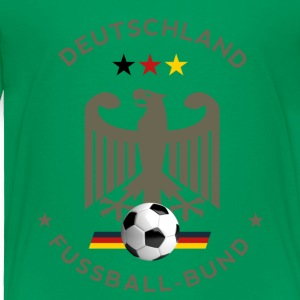 Soccer Germany world Master Goal ball Sport Team - Toddler Premium T-Shirt