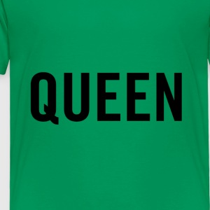 Queen Black - Toddler Premium T-Shirt