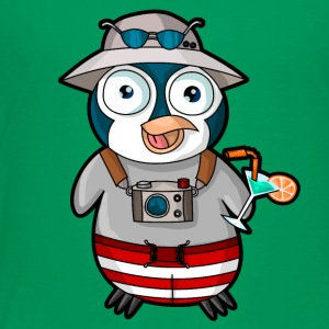 Tourist penguin - Toddler Premium T-Shirt