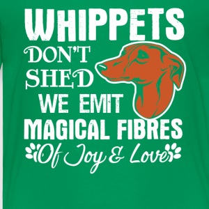 Whippets Hair Don't Shed Tee Shirt - Toddler Premium T-Shirt