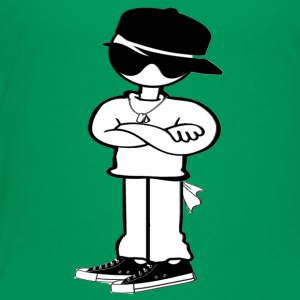 Hip Hop Cool Guy - Too Fly! - Toddler Premium T-Shirt