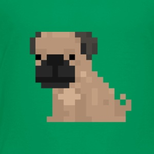 Pixel Pug - Toddler Premium T-Shirt