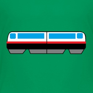 Sky Train Picture - Toddler Premium T-Shirt