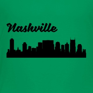 Nashville TN Skyline - Toddler Premium T-Shirt