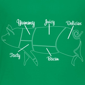 Yummy juicy bacon - Toddler Premium T-Shirt