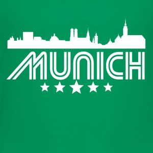 Retro Munich Skyline - Toddler Premium T-Shirt