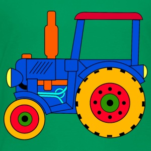 toy tractor blue - Toddler Premium T-Shirt