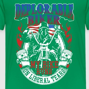 Deplorable Biker Tee Shirts - Toddler Premium T-Shirt