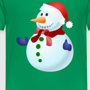 Beautiful Snowman - Toddler Premium T-Shirt