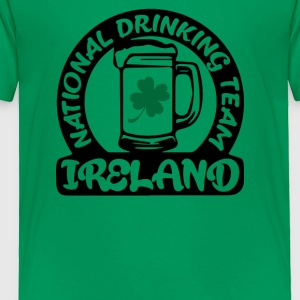 Ireland National Drinking Team - Toddler Premium T-Shirt