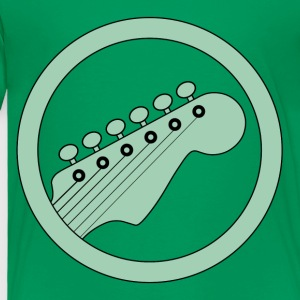 guitarist green - Toddler Premium T-Shirt