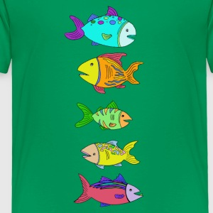 5 Fish - Toddler Premium T-Shirt