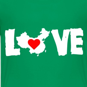 Love China White - Toddler Premium T-Shirt
