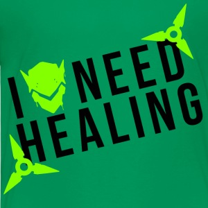 OVERWATCH GENJI I NEED HEALING DESIGN - Toddler Premium T-Shirt