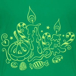 Halloween illustration - Toddler Premium T-Shirt