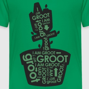 groot plants - Toddler Premium T-Shirt