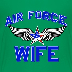 Air force wife design - Toddler Premium T-Shirt