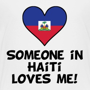 Someone In Haiti Loves Me - Kids' Premium T-Shirt