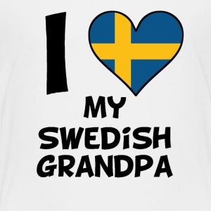 I Heart My Swedish Grandpa - Kids' Premium T-Shirt