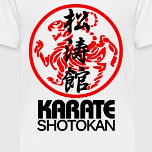 SHOTOKAN KARATE MARTIAL ARTS SYMBOL - Kids' Premium T-Shirt
