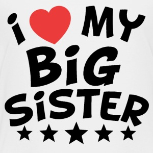I Heart My Big Sister - Kids' Premium T-Shirt