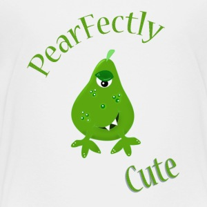 Monster fantasy pear illustration - Kids' Premium T-Shirt