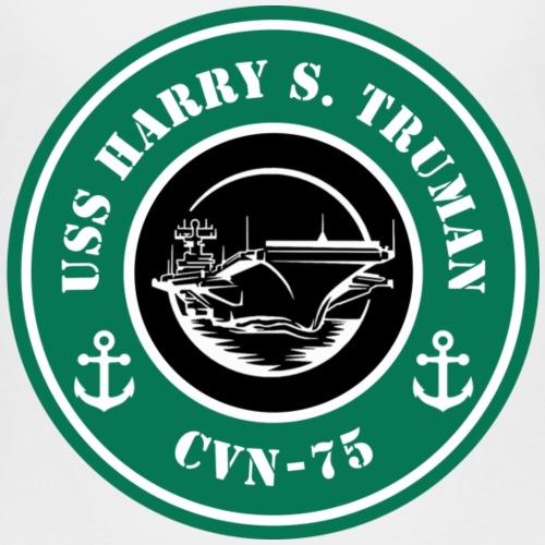 USS Truman runs off coffee - Kids' Premium T-Shirt