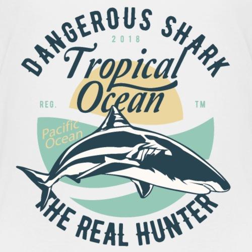 Dangerous Shark - Kids' Premium T-Shirt