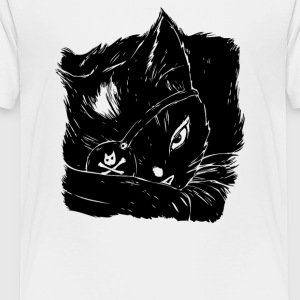 The Black Cat - Kids' Premium T-Shirt