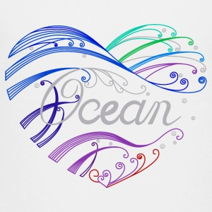 heart ocean - Kids' Premium T-Shirt