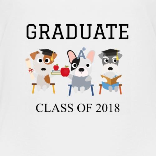 Graduate Dogs class of 2018 - Kids' Premium T-Shirt