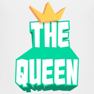 the queen - Kids' Premium T-Shirt