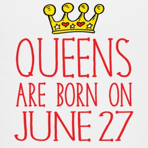 Queens are born on June 27 - Kids' Premium T-Shirt
