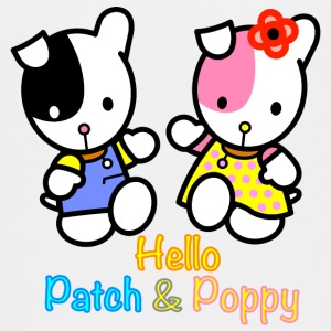 Patch and Poppy the puppies - Kids' Premium T-Shirt
