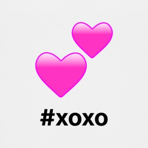 #xoxo Hearts Design (Pink Hearts) - Kids' Premium T-Shirt