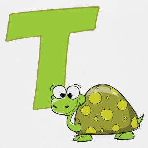 T Is For Turtle - Kids' Premium T-Shirt