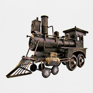 Vintage Toy Train Engine - Kids' Premium T-Shirt