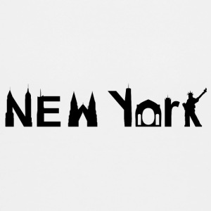 New York Skyline Black - Kids' Premium T-Shirt