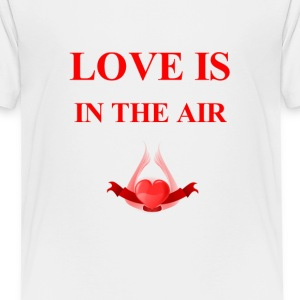 love is in the air - Kids' Premium T-Shirt